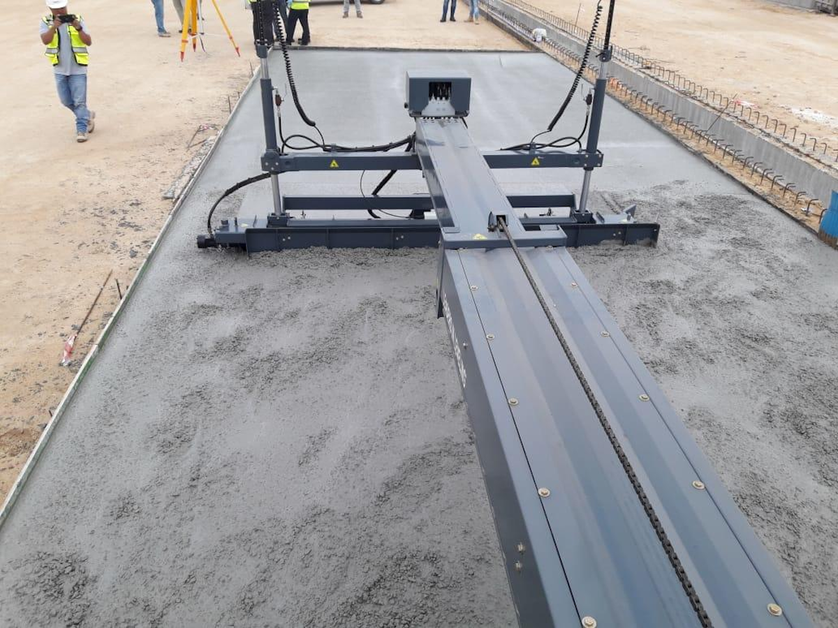S-10A Laser Screed